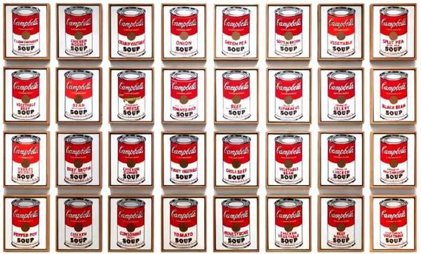 《坎贝尔浓汤罐头》