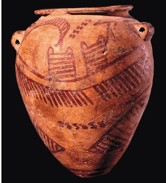 前王朝时期花瓶 18.4×10.6cm
