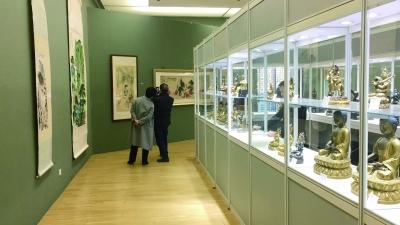 雍和文化艺术中心的展厅,可供收藏机构作预展用。