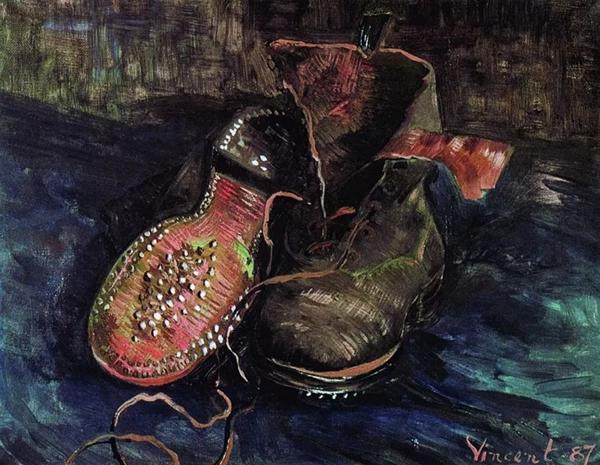 《一双靴子》1887