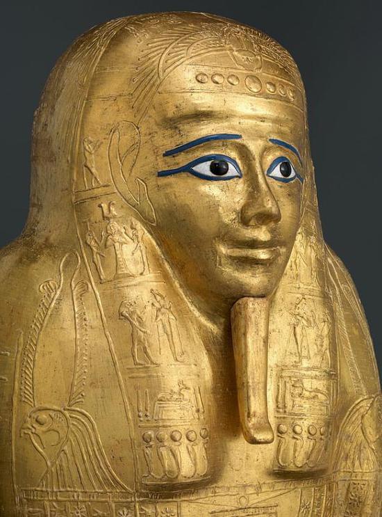 古埃及祭司 Nedjemankh 镀金棺椁