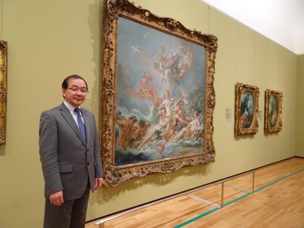 东京富士美术馆馆长五木田聪