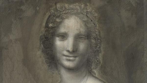 孔代美术博物馆珍藏的炭笔素描:蒙娜瓦娜(Monna Vanna) @Site du Domaine Chantilly
