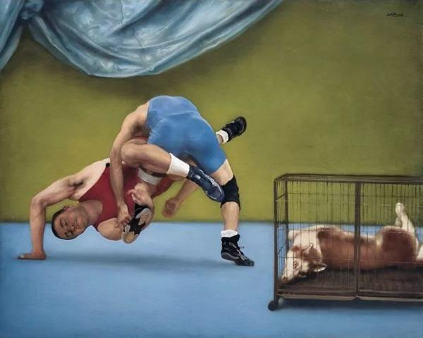 《巧合之一》布面油画160cmx200cm 2009