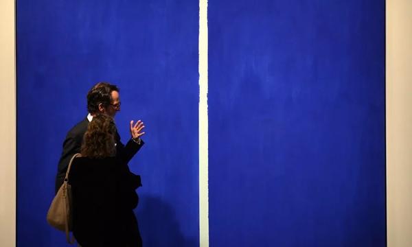 蓝色和红色作品在拍卖中最畅销?