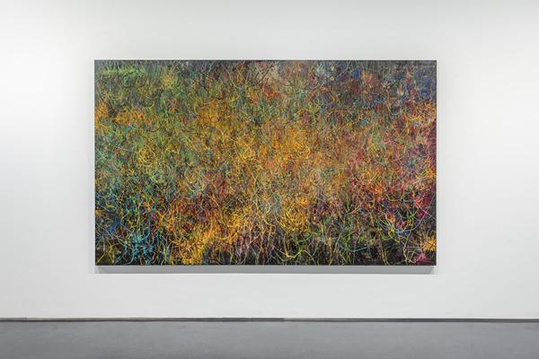 """油罐艺术中心""""建立中""""展览现场,2019年3月23日至8月24日"""