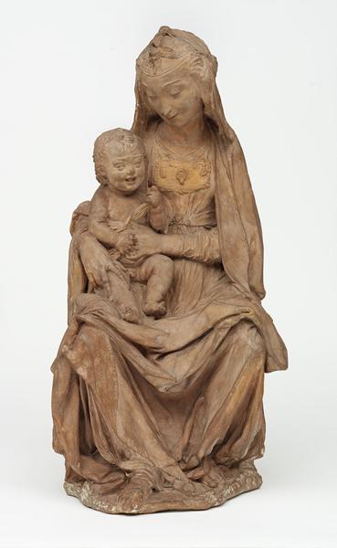 达·芬奇 《圣母与微笑的圣婴》,维多利亚及阿尔伯特博物馆藏,1472年