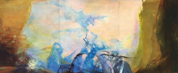 佳士得香港春拍最大亮点:佳士得隆重呈献赵无极创世之作《三联作1987-1988》