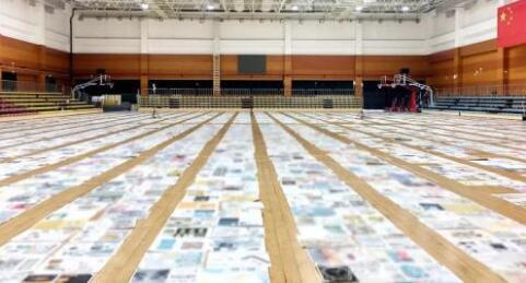 央美艺考阅卷现场 本文图片均来自 中国新闻网