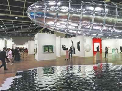 香港巴塞尔展览现场