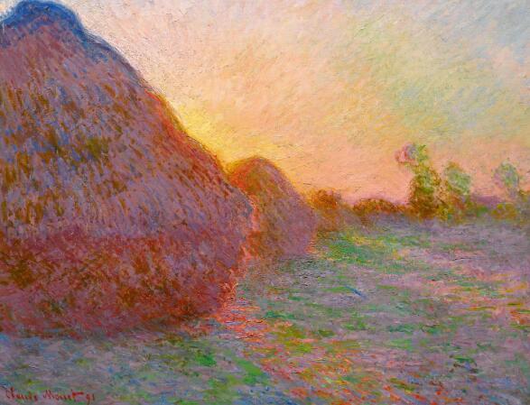 克劳德 · 莫内(Claude Monet),1890年,油彩画布,72.7 x 92.6 公分