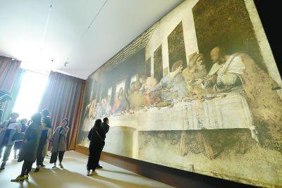 120元看达芬奇的传世名画复制品贵吗
