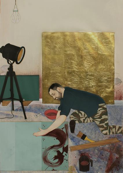 2019年Sovereign杰出亚洲艺术奖—《Imran Qureshi Studio》