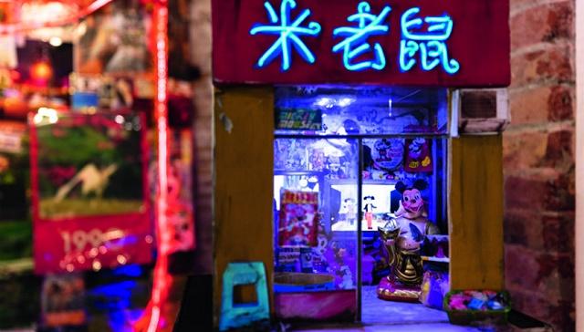 Tracey Snelling作品《上海/重庆/火锅/混音带》局部