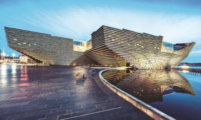 V&A邓迪博物馆是苏格兰首座设计博物馆。(资料照片)