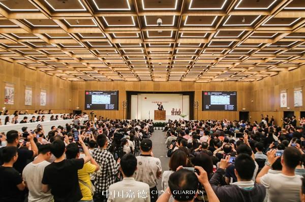 中国嘉德2019春季拍卖会以18.3亿元圆满收官