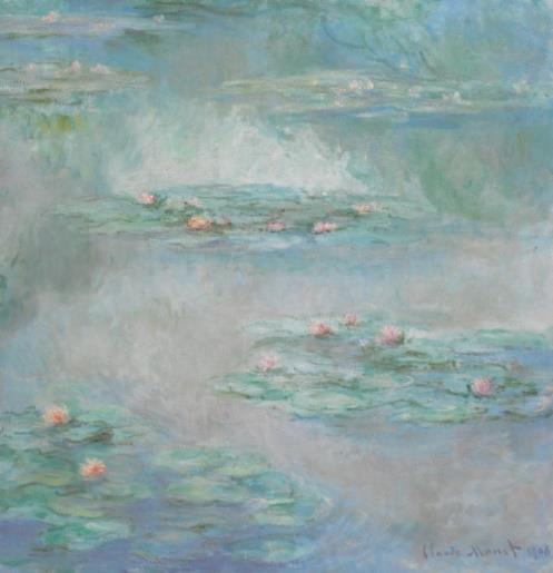 克劳德·莫内(Claude Monet)《睡莲》1908 年作,油彩画布估价:25,000,000 - 35,000,000 英镑