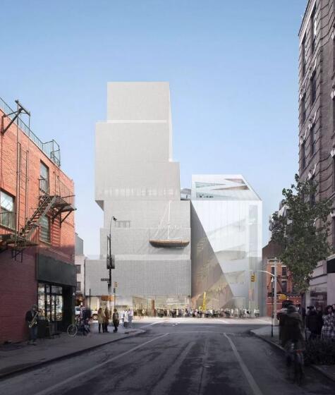 从王子街(Prince Street)角度看到的OMA设计的新美术馆扩建方案.图片提供:OMA /Bloomimages.de.