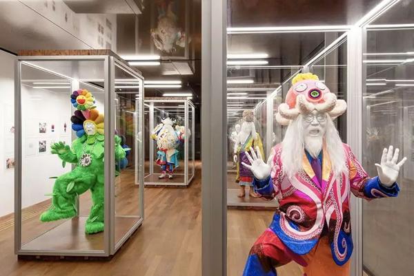 Installation view, Murakami vs Murakami, Tai Kwun Contemporary, Hong Kong, June 1–September 1, 2019. Artwork © 2019 Takashi Murakami/Kaikai Kiki Co., Ltd. All rights reserved. Photo: Guillaume Ziccarelli
