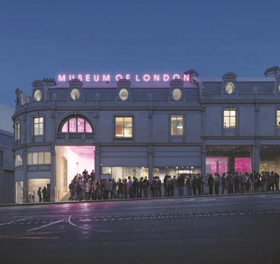 伦敦博物馆公布新馆方案 老旧市场变身文化集结地