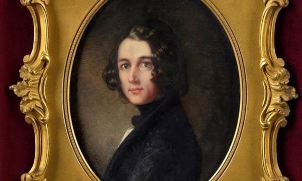 狄更斯肖像画