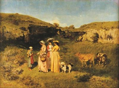 現實主義美學先驅古斯塔夫·庫爾貝誕辰200周年,他的藝術今天依然予人啟示