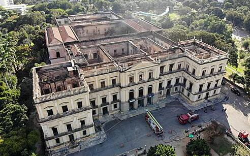 火災一年后,巴西國家博物館宣布計劃2022年重開部分展館
