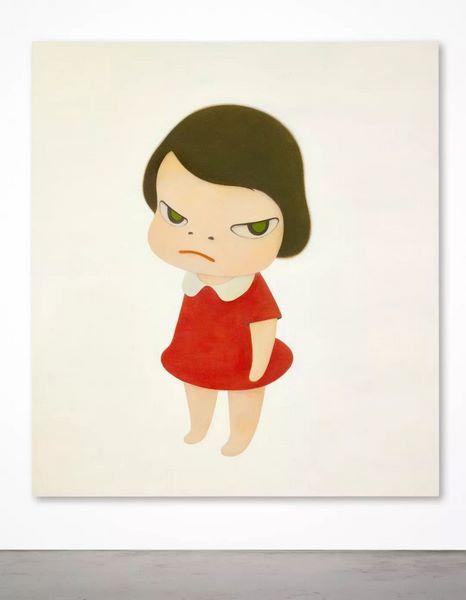 蘇富比秋拍   背后藏刀: 奈良美智巨作隆重登场当代艺术晚拍