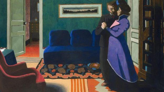 焦虑和不安的画家:瓦洛顿的艺术叙事背后隐藏着什么