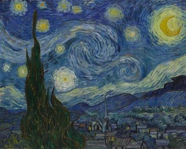在天文学家眼里,梵高的《星夜》科学吗