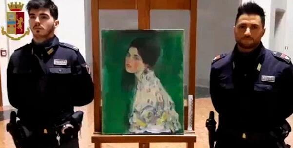 失踪23年克里姆特名画重见天日,原来竟是藏在意大利画廊墙壁内!