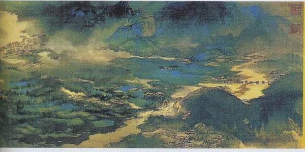 张大千晚年的绘画在哪里发生了嬗变