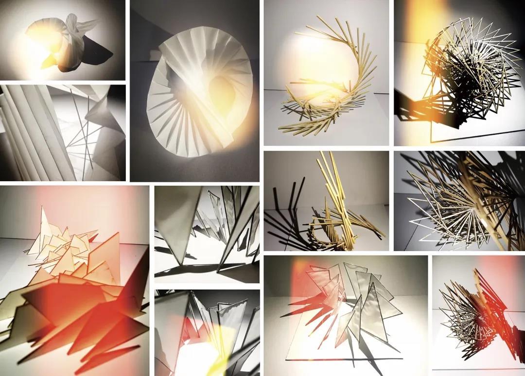 许馨恬(中国美院创新设计学院学生)  造型基础(运动)  光影小样