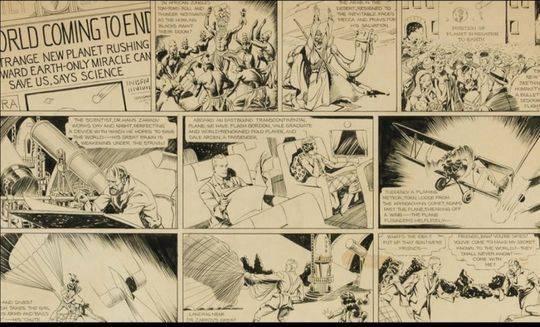 疫情重创全球艺术市场 为何一页漫画手稿却刷新纪录拍出48万美元?