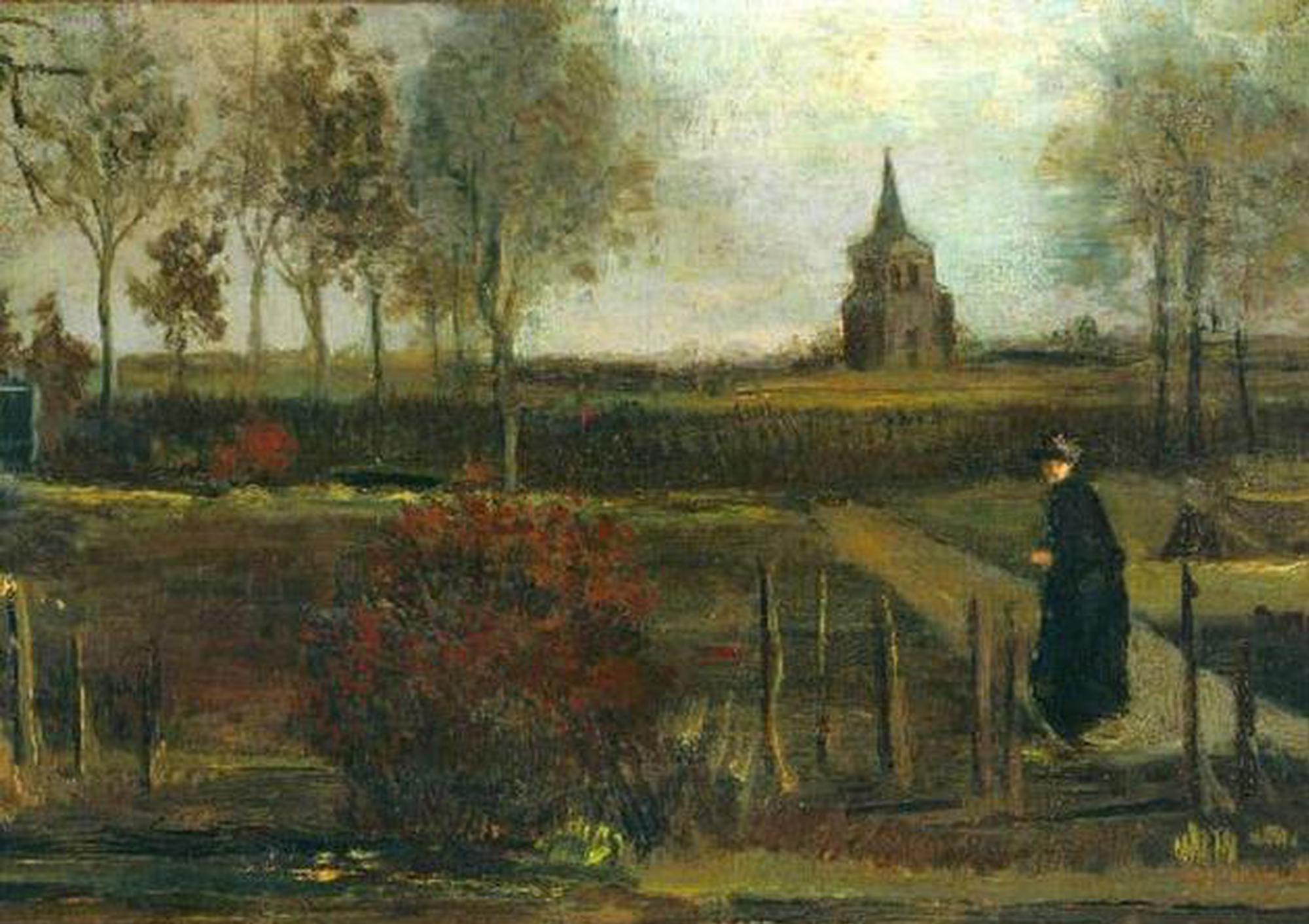 梵高画作在荷兰博物馆被盗 失窃日系梵高167周年诞辰