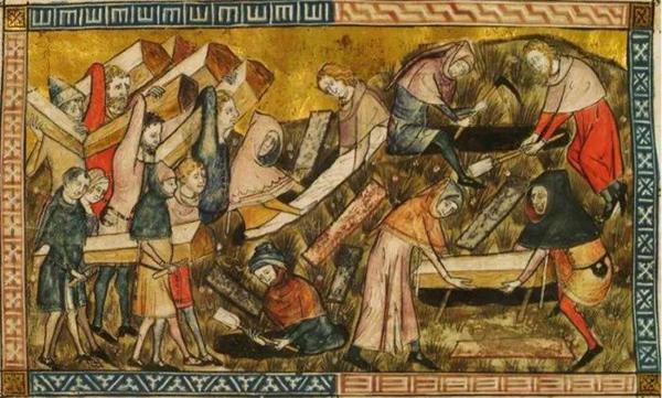 """""""疾病与瘟疫""""影响下的西方美术:那些诞生或中断的艺术"""
