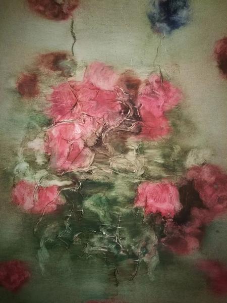 """周春芽一張小小的""""玫瑰花"""",為何拍出了150萬的高價,買家說原本的預算是200萬"""