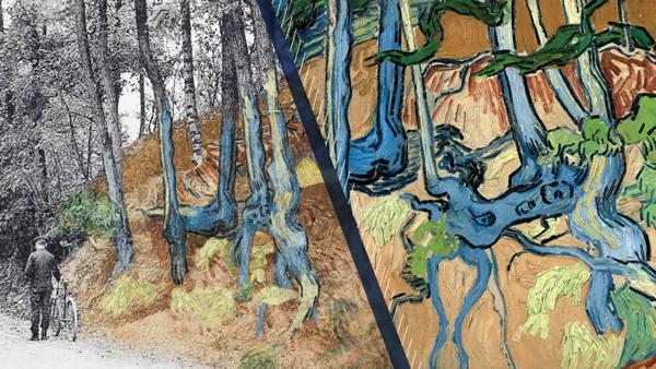 梵高的彩繪遺書:百年前大師自殺前的畫作地點得到確認
