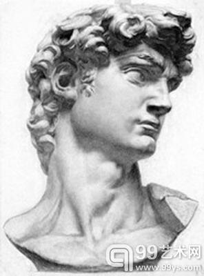 喻红素描大卫-中央美院素描展背后的故事