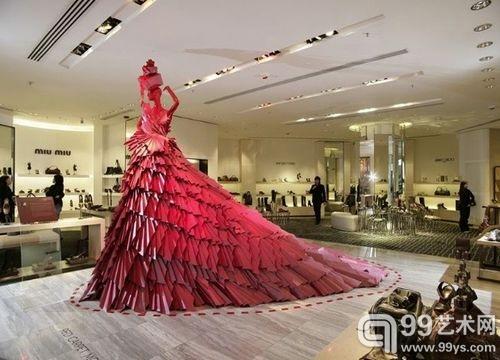 折纸 艺术结合时尚服装设计 –Zoe Bradley 99图片