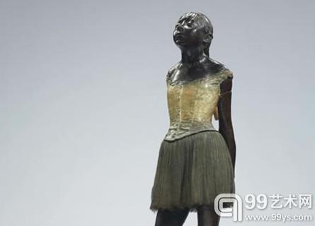 德加《十四岁的舞者》以1850万美元被拍品提供方自行购回(估价为2500万至3500万美元)