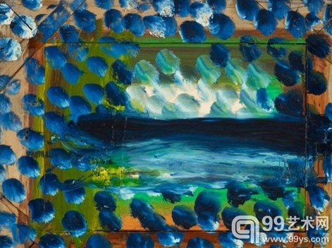 纽约高古轩画廊展出霍华德·霍奇金的最新绘画作品