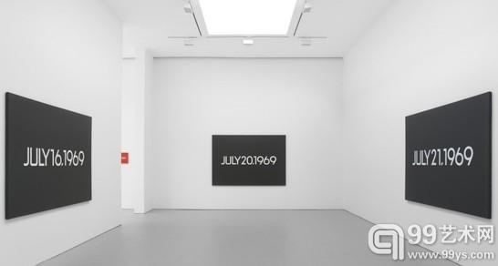 河原温(On Kawara)个展纽约David Zwirner画廊开幕