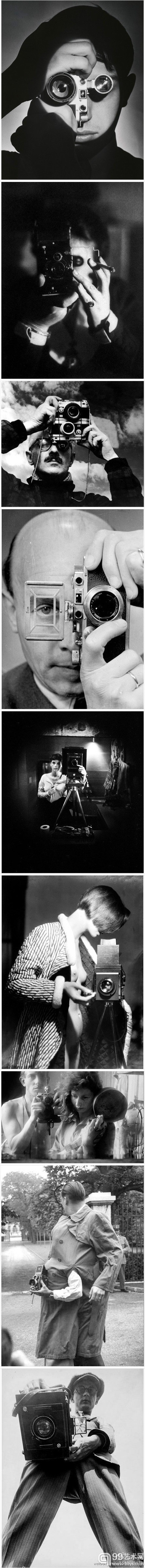 @马一鹰:摄影大师的工作照或自拍照(组照)