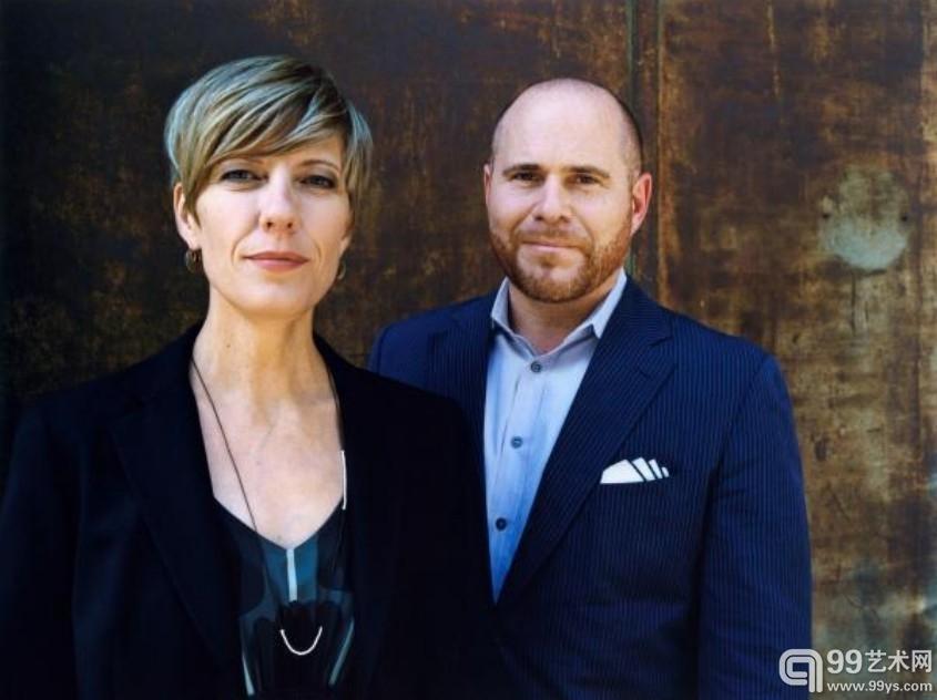 巴塞尔艺博会总监Annette Schönholzer 和Marc Spiegler   图由巴塞尔艺博会提供