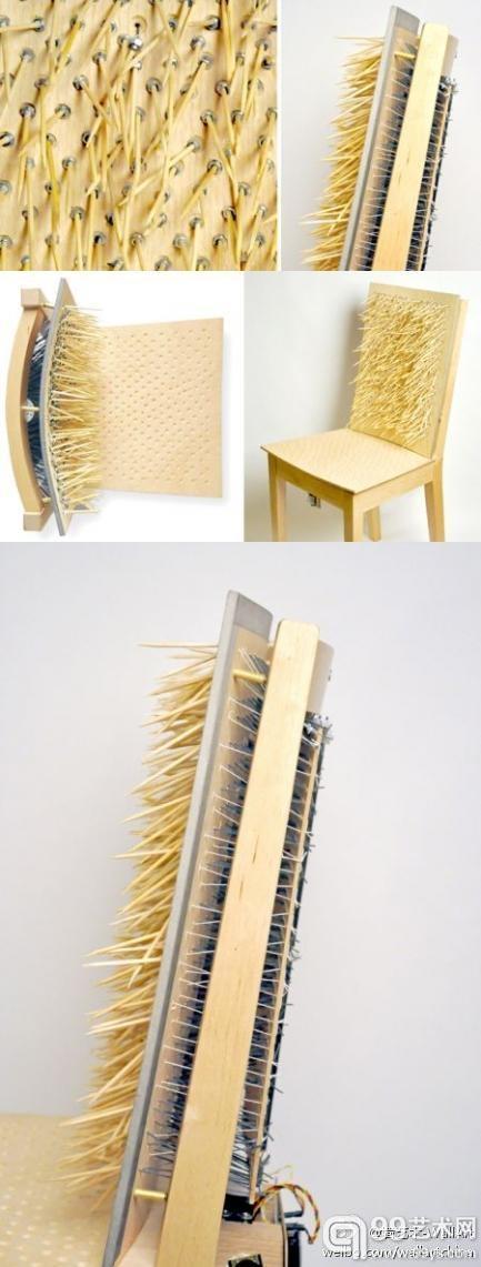 @墙艺术-WallArt:椅子也会有脾气?