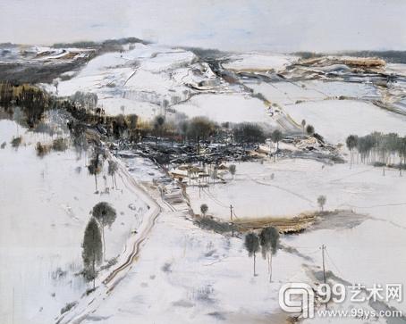 冬日可爱 100cm×80cm 布面油画 2009