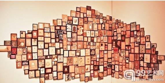 """巴里·麦吉(Barry McGee)的作品""""Untitled""""(1996)。"""