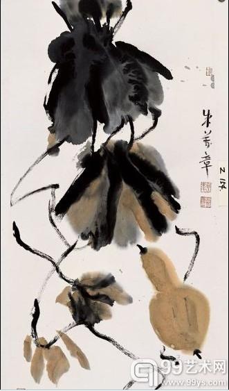 史论家朱万章的葫芦画