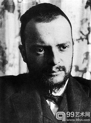 1911年的克利Alexander Eliasberg摄.jpg